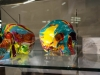 Damien Hirst Colored Skulls